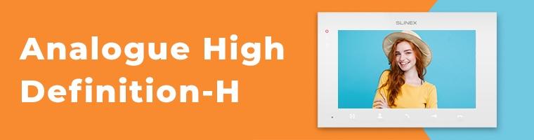Analog High Definition (AHD) домофони і панелі виклику від Slinex